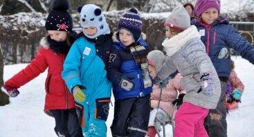 Pasaulinė sniego diena Kauno Pažaislio vienuolyne