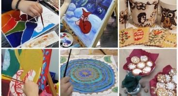 Gimtadienio Šventė ir kūrybiškos edukacijos – vaikams, draugams, šeimoms