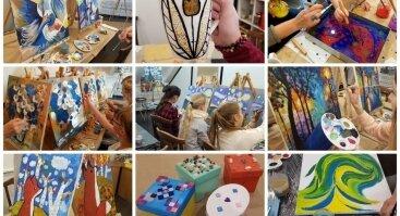 Gimtadienio Šventė ir kūrybiškos edukacijos – vaikams, draugams, šeimoms. Mūsų ir Jūsų erdvėse