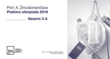 Prof. A. Žmuidzinavičiaus piešimo olimpiada moksleiviams