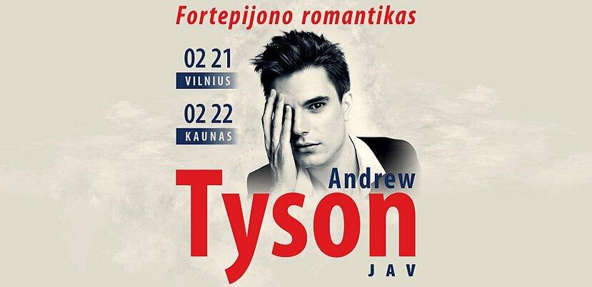 Fortepijono romantikas ANDREW TYSON