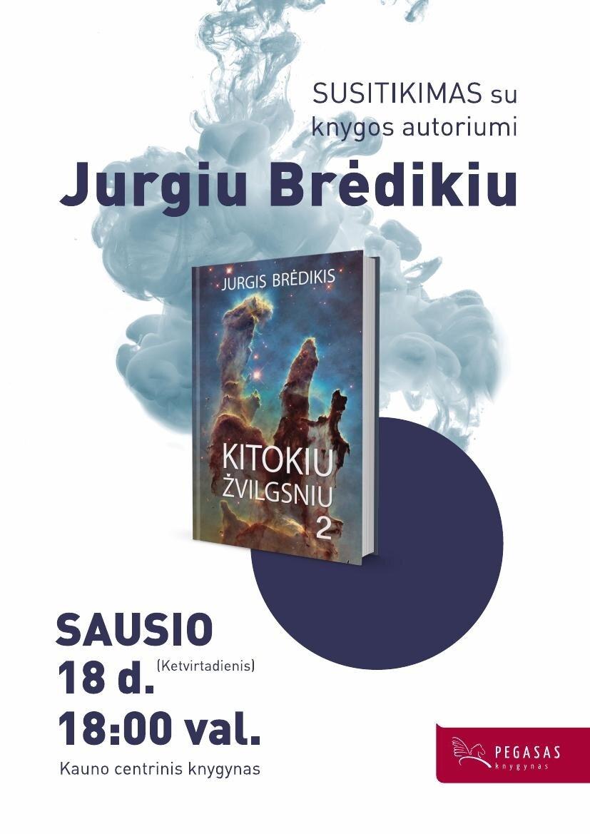 Susitikimas su akademiku Jurgiu Brėdikiu