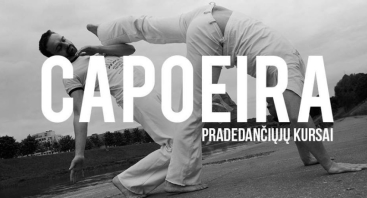 Capoeira - Pradedančiųjų kursai
