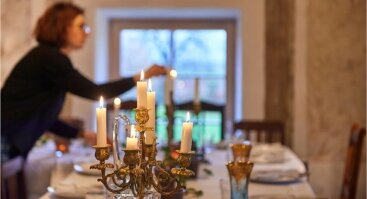 Paragauti neįprasto: Pasipriešinimas ir Laisvė maisto popietėj prie stalo su S. Chailovu ir jo gitara