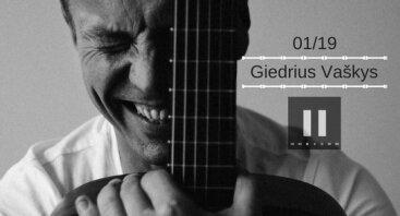 Giedriaus Vaškio akustinis koncertas