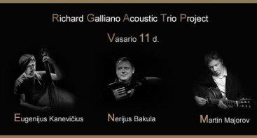 Richard Galliano Acoustic Trio Project