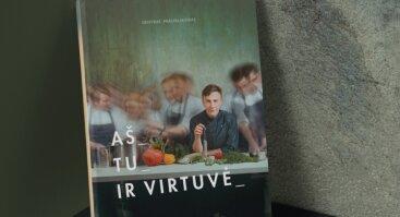 """Virtuvės šefo Deivydo Praspaliausko knygos """"Aš, tu ir virtuvė"""" pristatymas"""