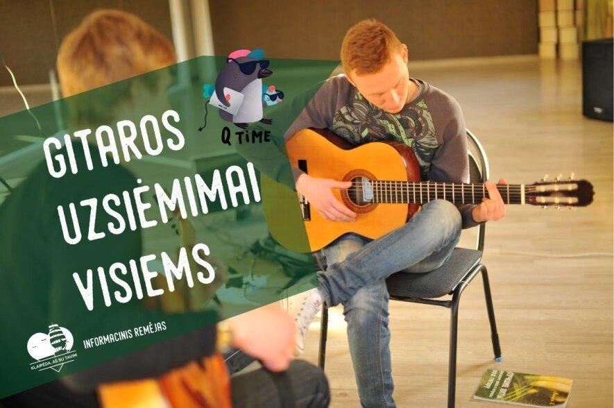 Gitaros užsiėmimai visiems