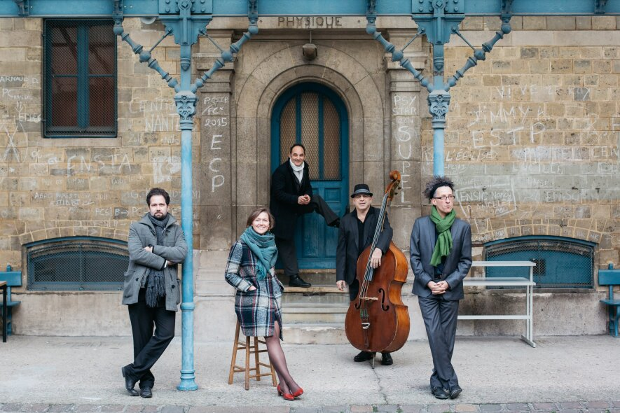 BLUES BY FIVE: Viktorija Gečytė Quintet (Prancūzija)