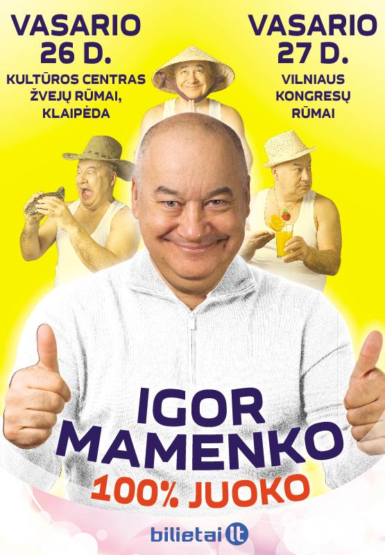 IGOR MAMENKO 100% JUOKO