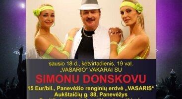 VASARIO VAKARAI. Simonas Donskovas