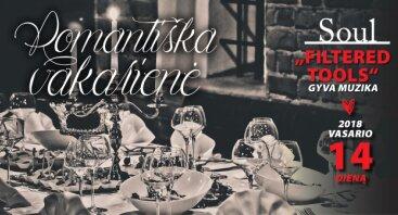Šv. Valentino dienos koncertas ir romantiška vakarienė