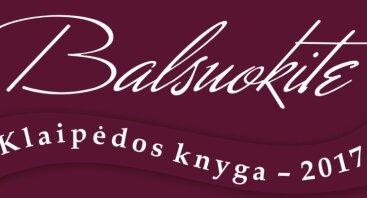 Klaipėdos knyga - 2017