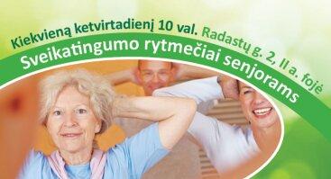 Kviečiame senjorus į sveikatingumo rytmetį!