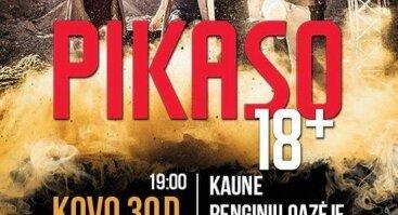 """PIKASO koncertinis turas """"18+"""""""
