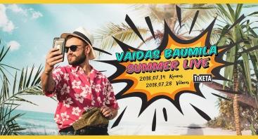 Vaidas Baumila: Summer Live