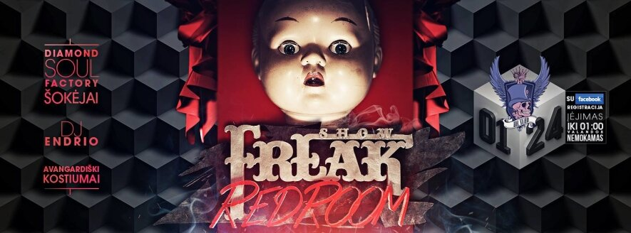 Dr.Who freak show: RED ROOM