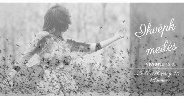 Įkvėpk meilės: kvapų ir poezijos meditacija
