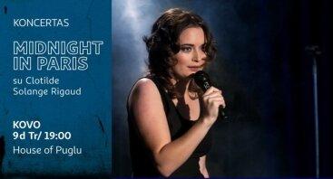 "Koncertas ""Midnight in Paris"" su Clotilde Solange Rigaud"
