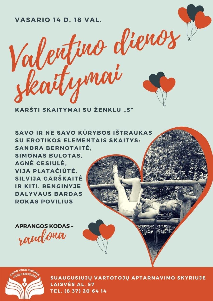 Valentino dienos skaitymai