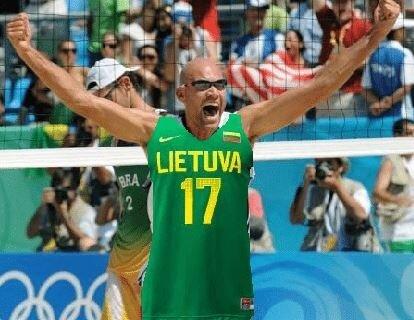 """Vyrų paplūdimio tinklinio turnyras """"Už Lietuvą, vyrai!"""""""