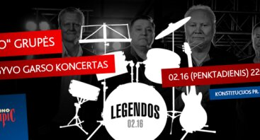 Legendos: RONDO gyvo garso koncertas