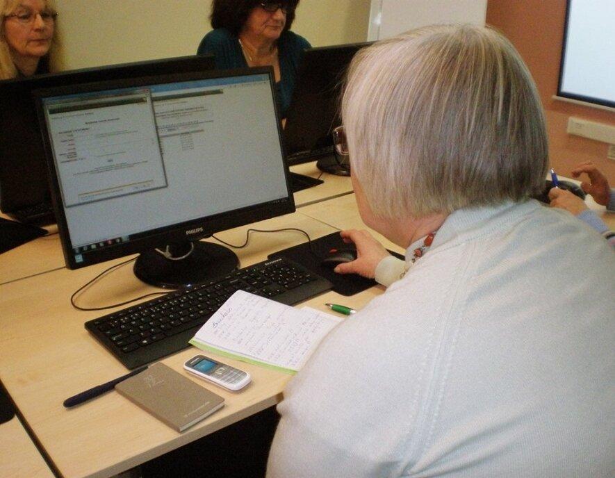 Kompiuterinio raštingumo ir interneto pradžiamokslio kursai