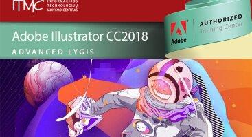 Vektorinė grafika Adobe Illustrator CC (Advanced lygis)