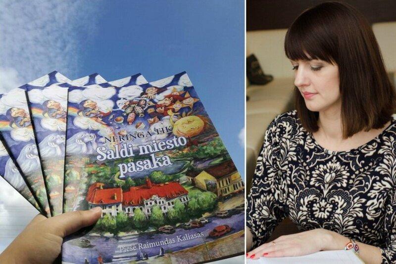 Susitikimas su rašytoja Neringa Tik ir iliustratoriumi Raimundu Kaliasu