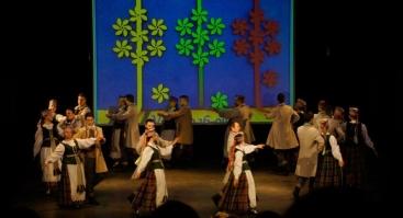 """Liaudiškų šokių festivalis """"Žiemos ratelis"""""""