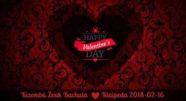 Be my Valentine party - Kizomba, Zouk, Bachata, Salsa