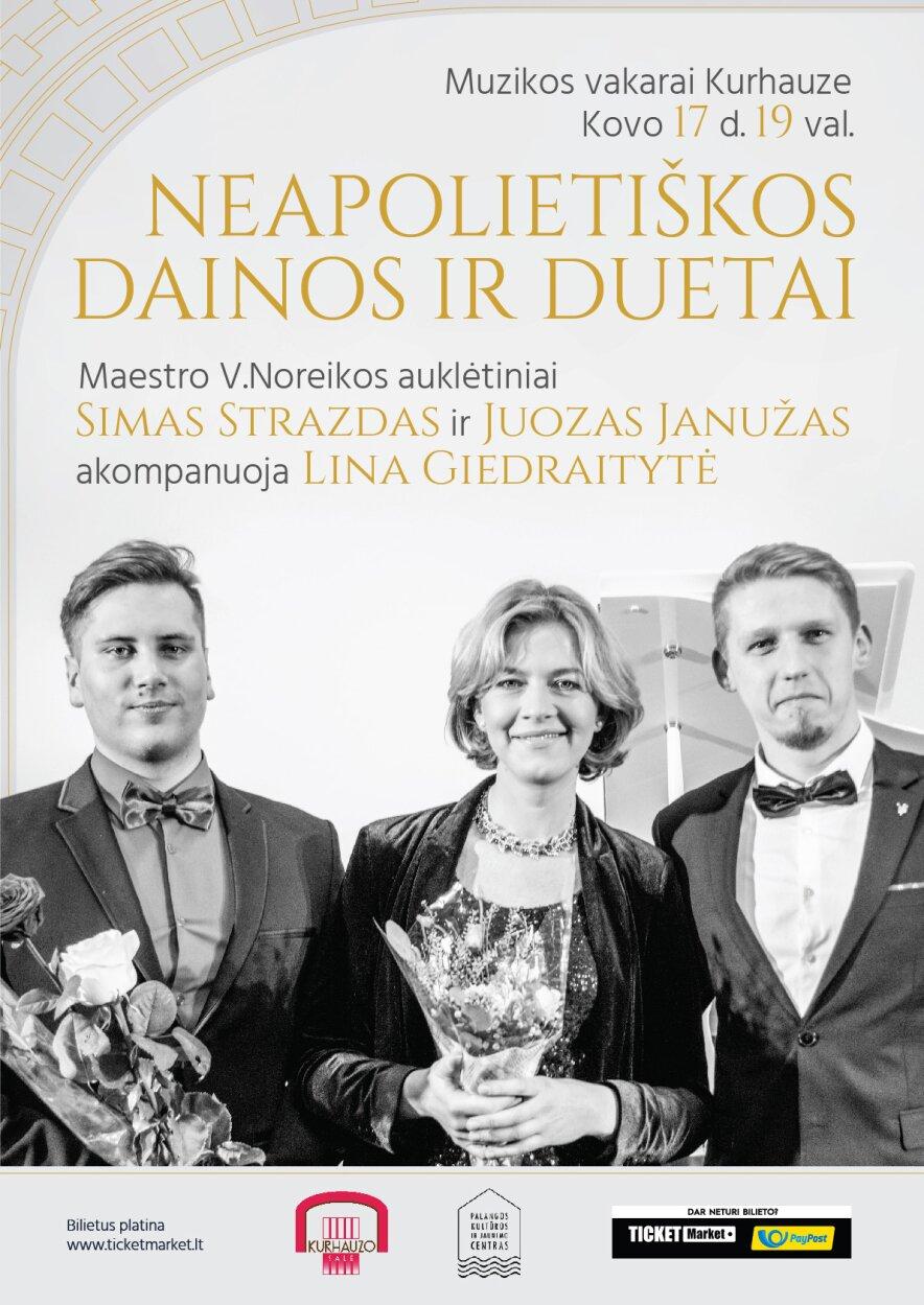 Neapolietiškos dainos ir duetai