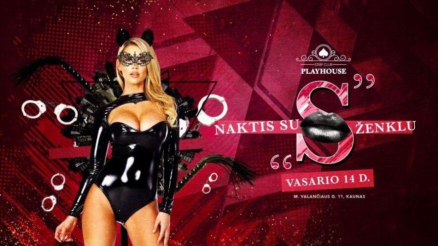 "Valentino naktis su ""S"" ženklu"