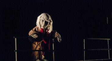 """Teatrinė fantazija """"BEKETO BLIUZAS"""". Kelionė po Samuelio Beketo pjeses."""