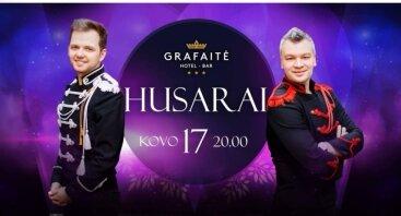 Grupės HUSARAI koncertas Grafaitėje!