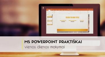 MS PowerPoint praktiškai