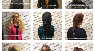 Šukuosenos - praktinis seminaras Šiauliuose