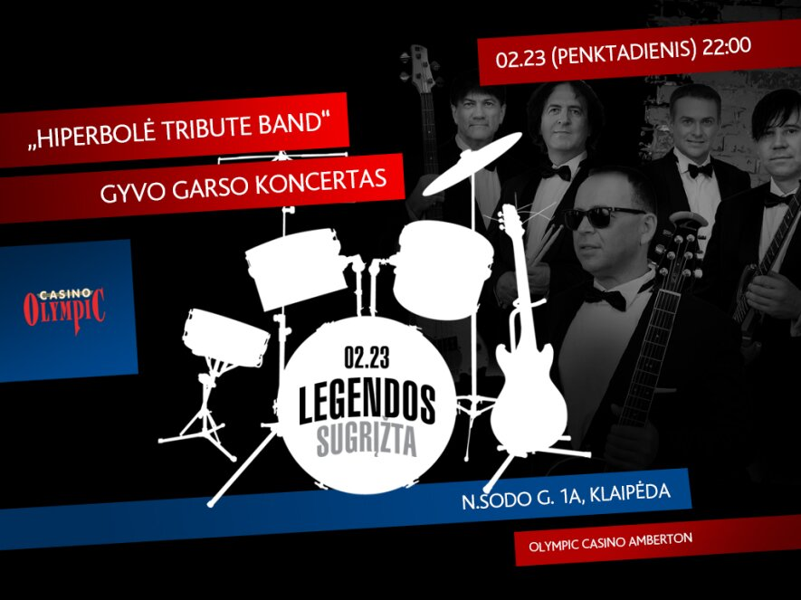 Legendos: Hiperbolės koncertas