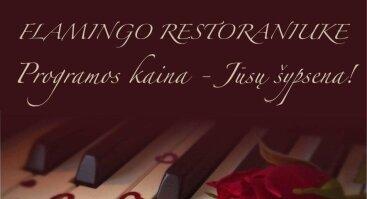 Šv. Valentino diena Flamingo restoraniuke