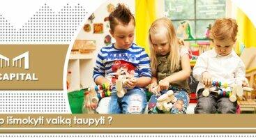Kaip tėveliams vaikus mokyti apie pinigus