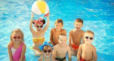 """Vaikiškas ėjimas į """"Girstučio"""" baseiną tik 2€ + NEMOKAMI ledai"""