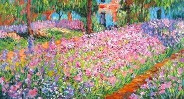 C. Monet paveikslo improvizacija
