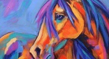 Tapome spalvingą arklį