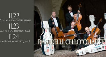 RASTRELLI CELLO QUARTETT koncertas