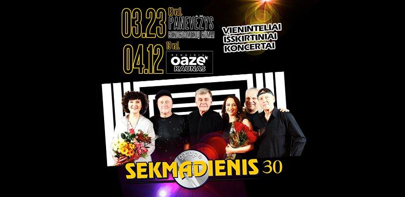 SEKMADIENIS 30 – koncertas