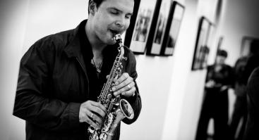 Penktadienio vakaras su saksofono virtuozu Sergej Vichrov