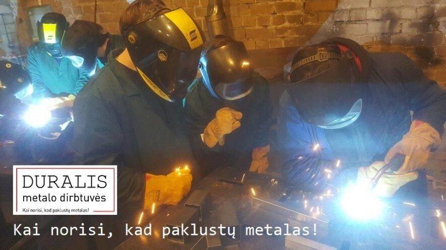 """Atrviros """"Duralio metalo dirbtuvės"""". TIG / Plazma pradžiamokslis"""