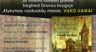 Vilko vaikas Siegfried Gronou - istorija iš Kauno Marių užlietų kaimų