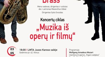 Low frequency brass. Pučiamųjų ir mušamųjų instrumentų koncertas