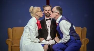 """J.Miltinio dramos teatro tikra komedija """"PRANCŪZIŠKOS SKYRYBOS"""""""